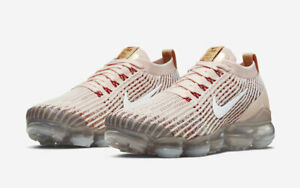 Nike-Air-Vapormax-Flyknit-3-Sunset-Tint-White-AJ6910-602-Running-Shoes-Women-039-s