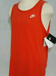 Details about Men's Nike The Nike Tee Athletic Cut Cotton Tank Top