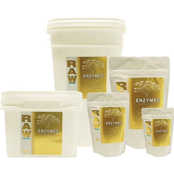 Raw enzimi sostanze nutrienti solubili in acqua 2 OZ (ca. 56.70 g), 8 OZ (ca. 226.79 g) NPK INDUSTRIES-Nuovo Prodotto