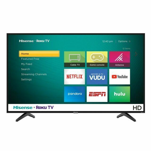 Hisense 32h4030f1 32 Inch 720p Led Roku Smart Tv For Sale Online Ebay
