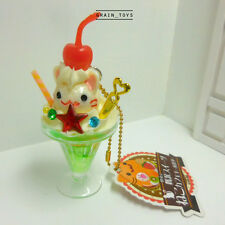 Cat Cafe Dessert [ Parfait ] Amuse Japan Keychain Mascot Figurine Toy Collection