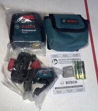Bosch 30ft Self Leveling Cross Line Laser Level Gll30s