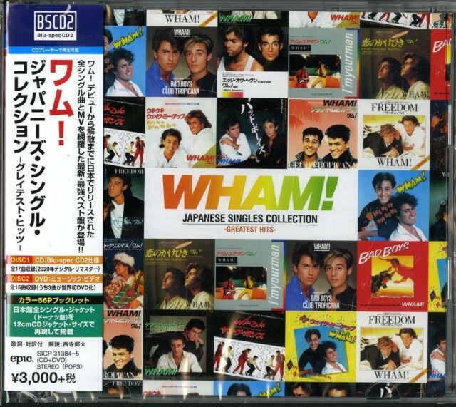 WHAM!-JAPANESE SINGLES...-JAPAN ONLY BLU-SPEC CD2+DVD+BOOK BONUS TRACK G88