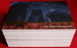 HARRY-POTTER-AND-THE-GOBLET-OF-FIRE-COLLECTOR-039-S-UPDATE-SET-of-90-cards-ARTBOX