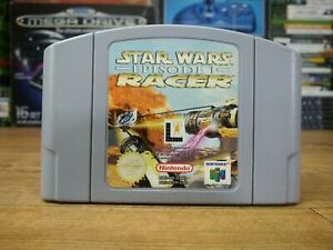 Star Wars episodio 1 Racer Nintendo 64 N64 Cartucho De Juego PAL Reino Unido