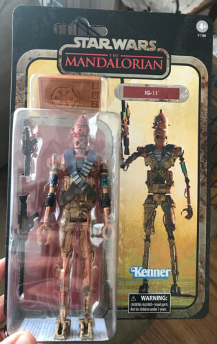 """Star Wars Black Series 6/"""" Credit Collection IG-11 The Mandalorian Sealed IN HAND"""