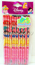 Disney Princess Belle Snow White Cinderella 1 pack of 12 Color Pencils