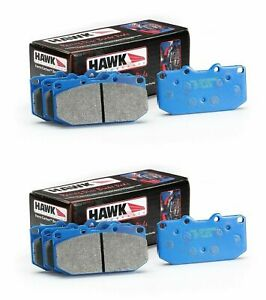 HAWK-BLUE-9012-FRONT-AND-REAR-BRAKE-PADS-FOR-1995-1999-BMW-M3-2DR-4DR-E36-Z3M