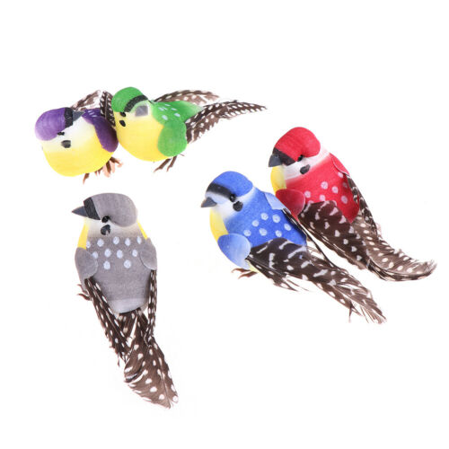1X Birds Simulation Artificial Feather Doves Feather Park Mall Ornament LDUKATF