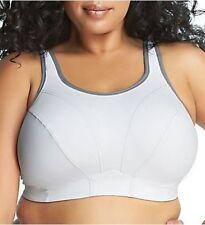 3d67ef9ee3 Goddess Women s Sports Bra White 34dd