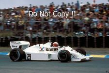 Marc Surer Arrows A6 Dutch Grand Prix 1983 Photograph 1