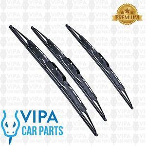 Kia-Shuma-MK-2-Hatchback-MAR-2002-to-MAR-2004-Windscreen-Wiper-Blades-Set