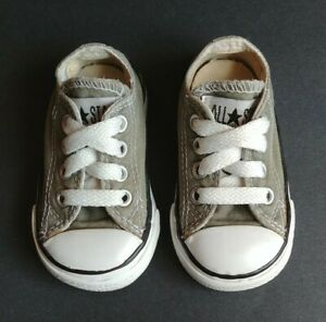 Baby Boy Converse All Star Size 3 Green
