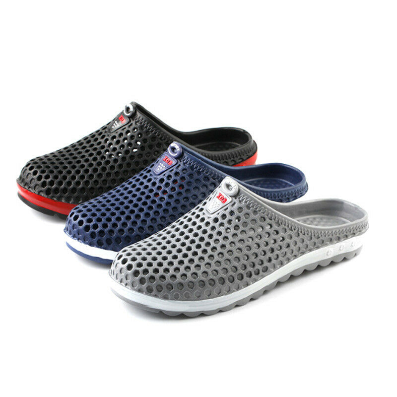 Men Women Breathable Slippers Hollow-out Beach Sandals Garden Hole Shoes New TO