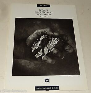 Brochure-KODAK1990-Black-and-White-Papers-Films-and-Chemicals-Pellicules-N-amp-B