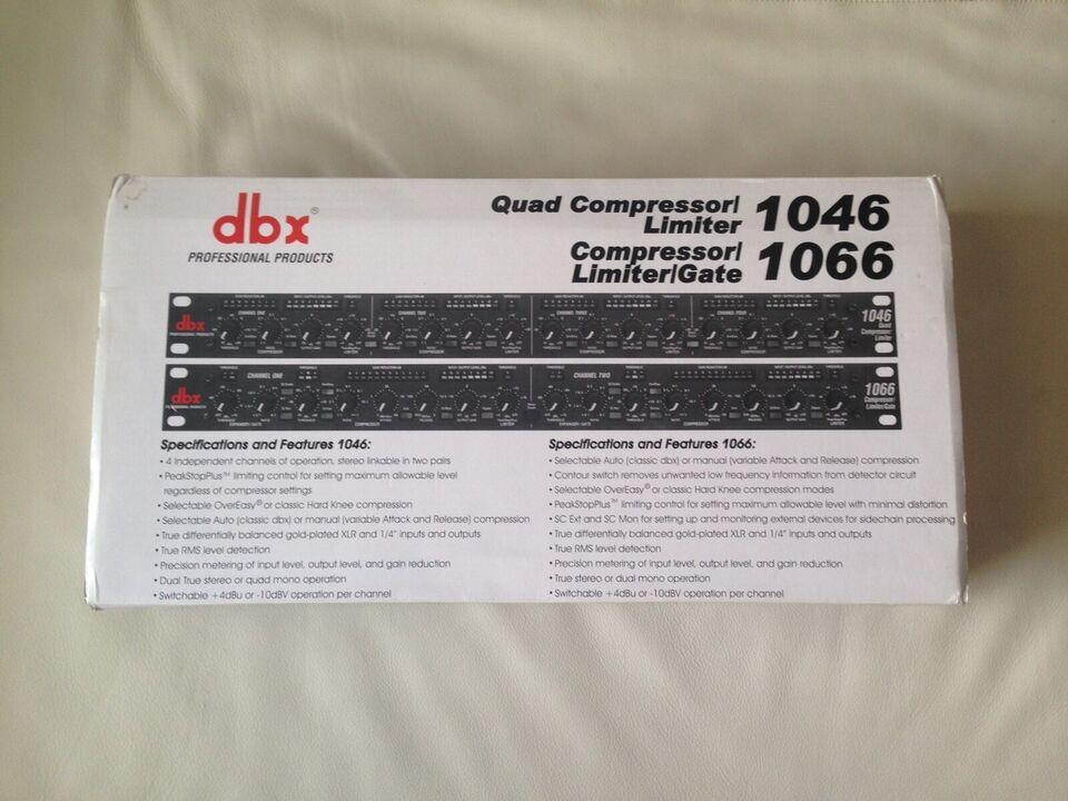 Compressor / limiter, Dbx 1046