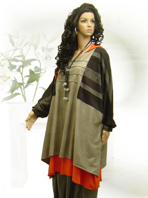 PoCo DeSiGn LAGENLOOK Basic Long Shirt Tunika 42 44 46 48 50 52 54 56 58  L-XXXL