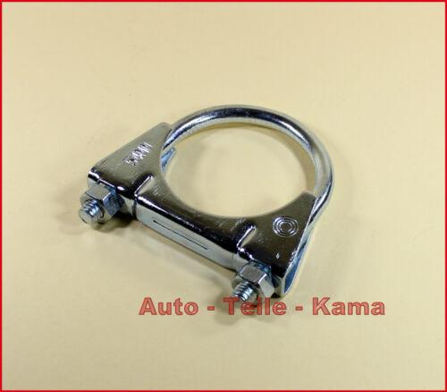 Bügelschelle Clamp M8 Ø 56 mm Montageschelle 5 x Auspuffschelle