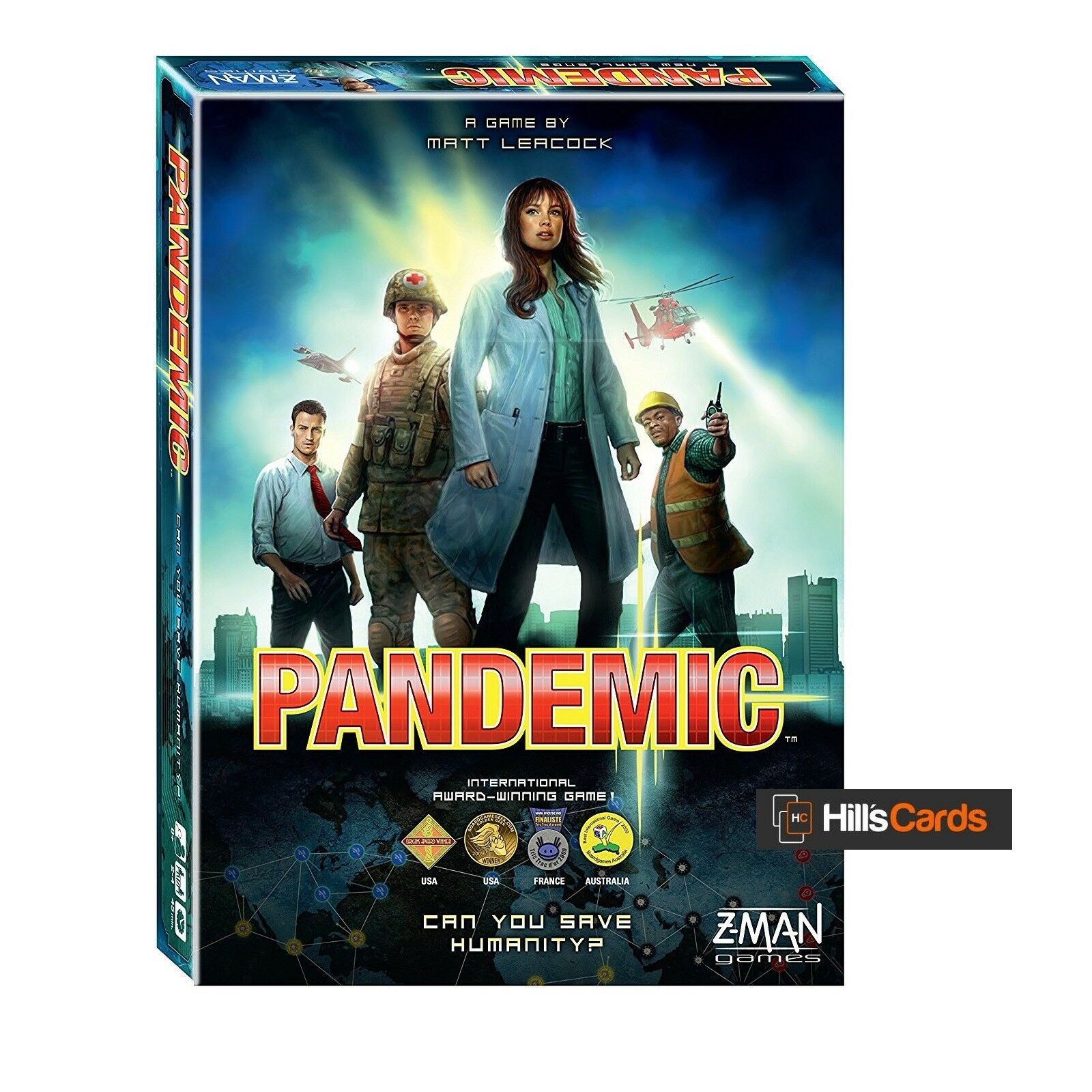 Pandemic Board Game  2013 Edition - Z-Man Games - ZMG71100