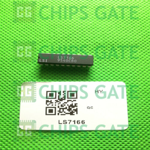 1PCS LS7166 DIP-20 24-BIT QUADRATURE COUNTER