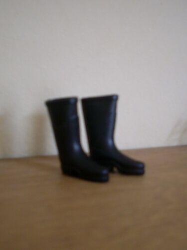 Dollshouse Miniature ~ Noir ~ Paire de bottes