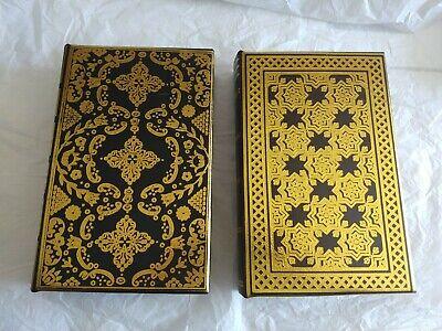 2pc Decorative Faux Books Storage Boxes Set Secret Hollow Safe Organizer 784185835533 Ebay