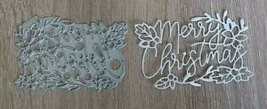 Sizzix-Die-Cutter-Merry-Christmas-Thinlits-fits-Big-Shot-Cuttlebug