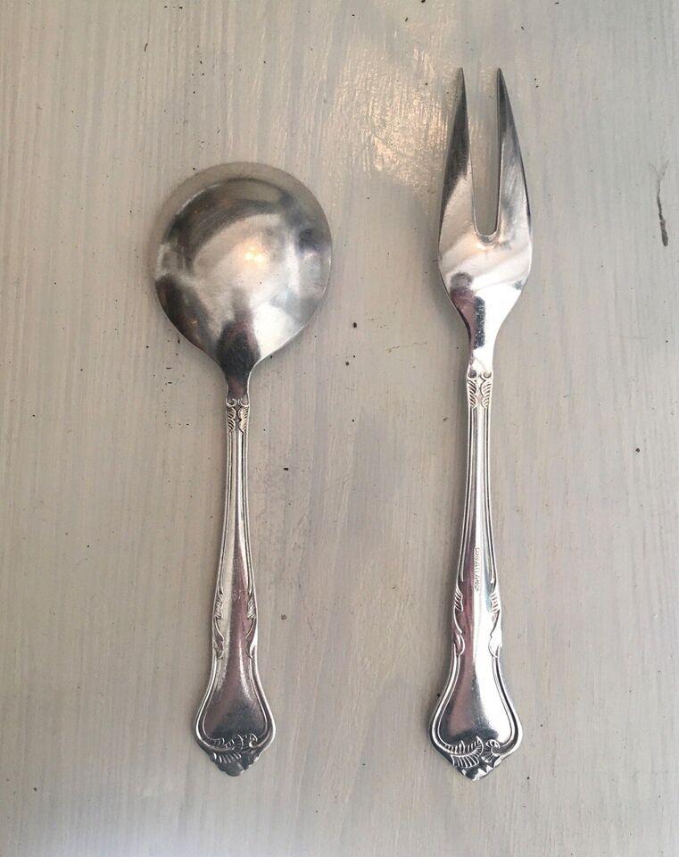 Bestik, Kartoffelske og stegegaffel, Riberhus
