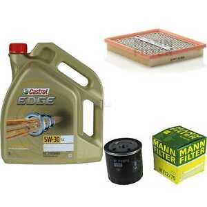 Inspektionskit-filtro-castrol-5l-aceite-5w30-para-Vauxhall-Astra-Mk-II-convertible