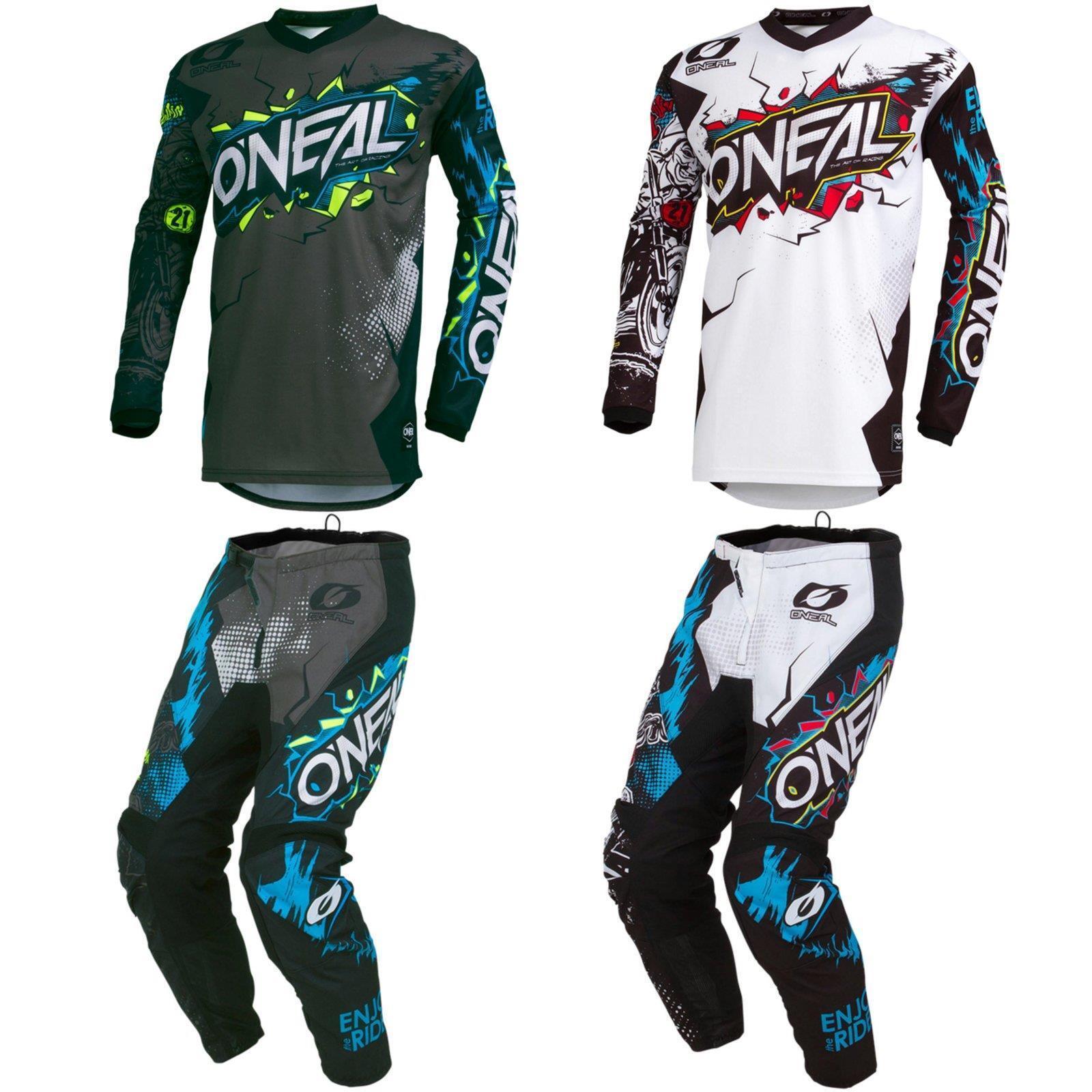 O'Neal Element Villain Motocross Hose Jersey Bekleidung Enduro Mountain Bike DH    Die erste Reihe von umfassenden Spezifikationen für Kunden