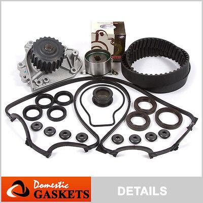 Fit 96-00 Honda Civic De Sol DOHC Timing Belt Water Pump Valve Cover Kit B16A2
