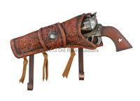 Realistic Cowboy Pistol Revolver Wall Hook - Coat Or Hat Rack Western Star Gun