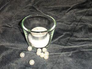 """Décoration De Table-votivglas Incl Sable & Lumignons Mariage Baptême-vglas Incl Sand & Teelicht Hochzeit Taufe"""" afficher Le Titre D'origine"""
