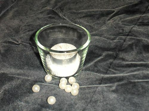 Tischdeko-Votivglas incl Sand /& Teelicht Hochzeit Taufe