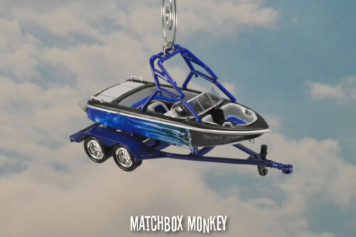Waterski Wakebord Boat Cus Christmas Ornament Mastercraft Moomba Supra Action