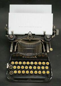Vintage-1922-Corona-Model-3-Folding-Typewriter-with-Case