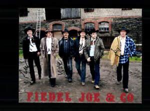Joe und Co Fiedel Foto Original Signiert ## BC 162383 - Niederlauer, Deutschland - Joe und Co Fiedel Foto Original Signiert ## BC 162383 - Niederlauer, Deutschland