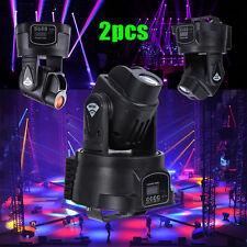 2Pcs 15w Led Moving Head Stage Ligth Music Lighting Effect Dj Party Bar Pub KVT