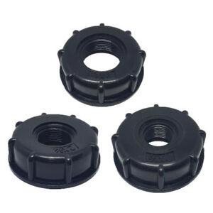 Schnell Tankanschluss Verbinden IBC Adapter Gewinde Kappe Kunststoff Schlauch
