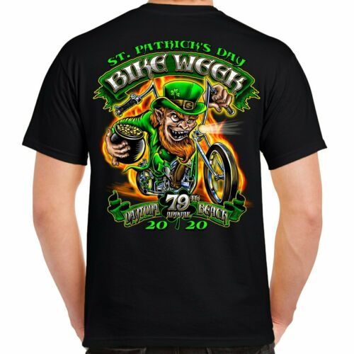 2020 bike week daytona beach fougueux Leprechaun T-Shirt