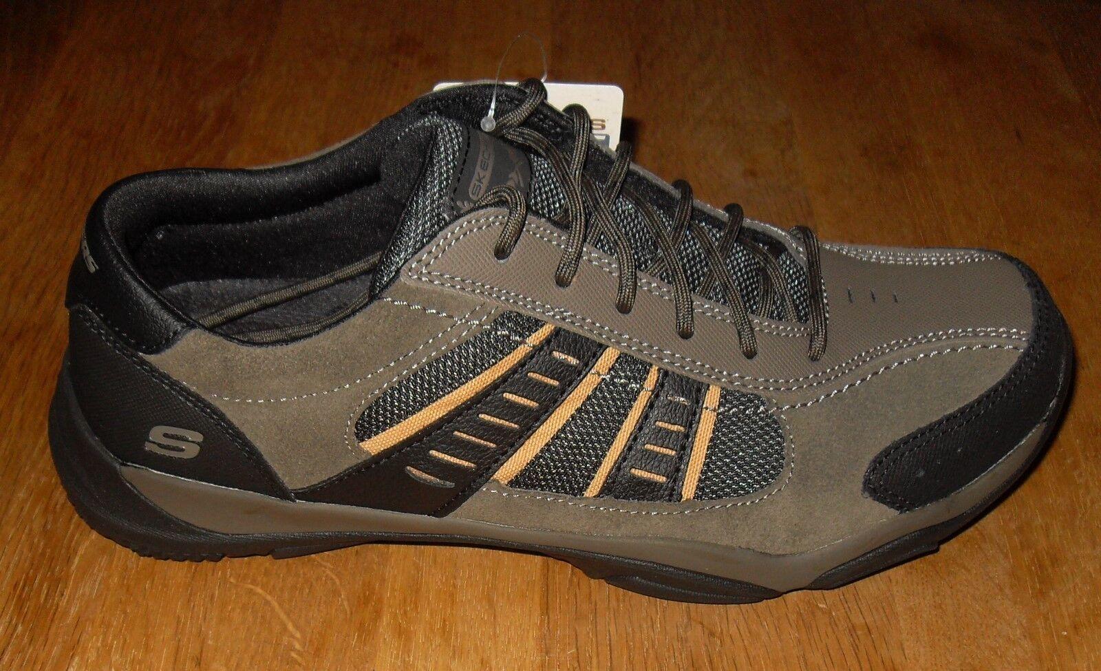 Skechers Larson Alton Olive Mens Trainers Size UK 7   EUR 41   26cm