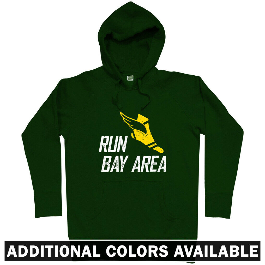 Run Bay Area V3 Hoodie - Hoody Men S-3XL - Running Jogging Oakland San Francisco
