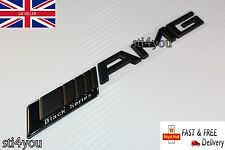 AMG Arranque Tronco Insignia Emblema Adhesivo Negro Mate Negro Serie CLK SLK CLK C SL