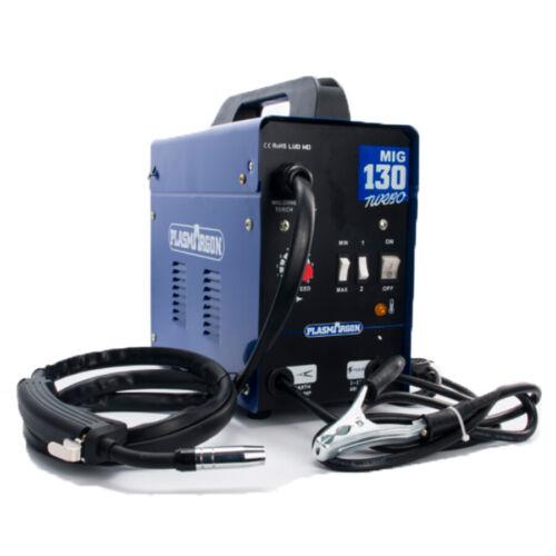 Poste à Souder Bleu MIG130 MIG Soudure Soudage Métal 130A 230V
