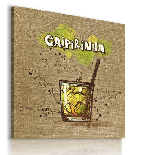 CAIPIRINHA COCKTAIL DRINK Canvas Wall Art Picture Large SIZES  DR109 MATAGA .