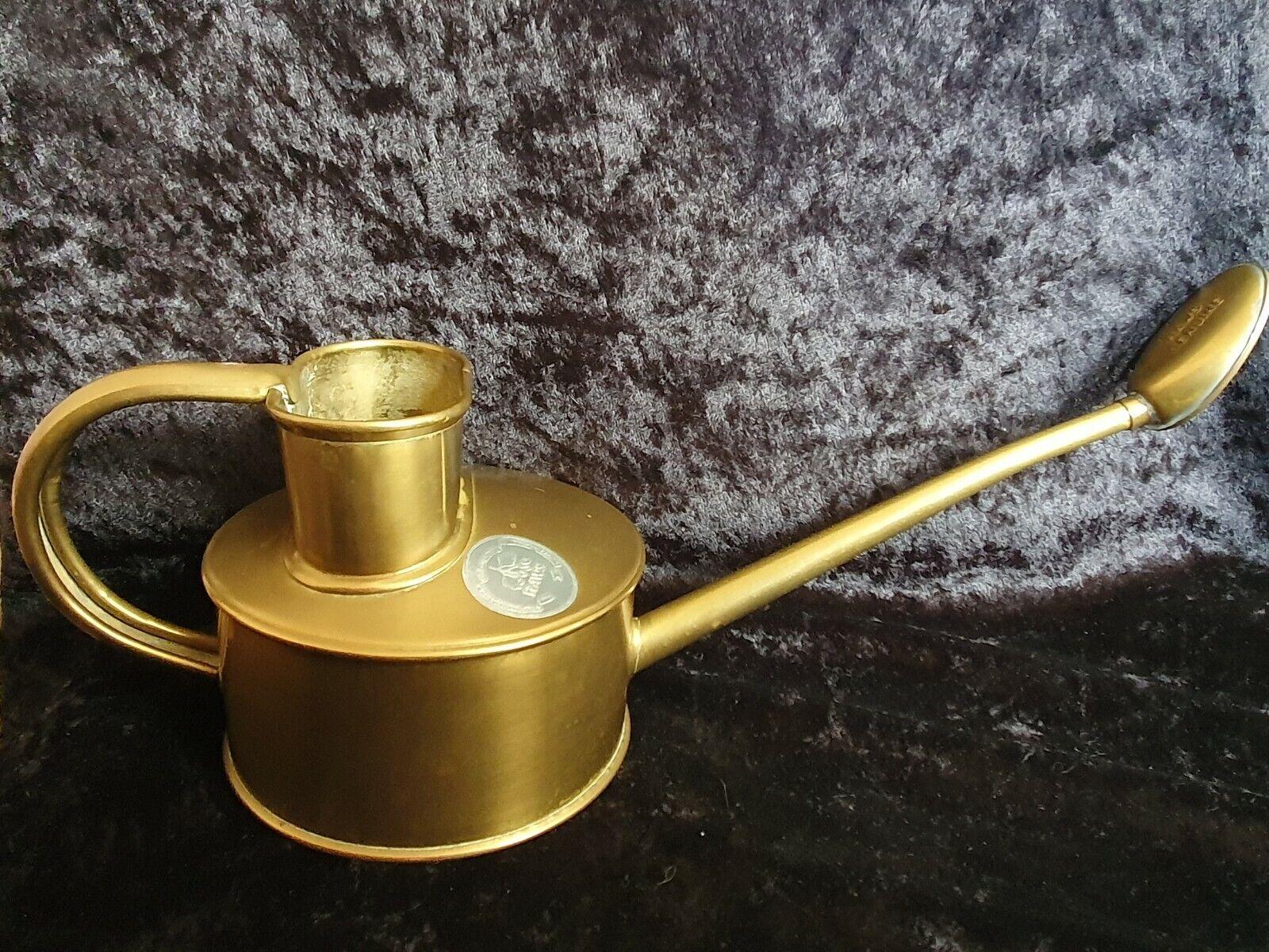 Original Vintage Haws Copper watering can Genuine Brass Rose