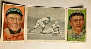 1912-Hassan-Triple-Folders-T202-90-Lobert-Almost-John-King-Harry-Steinfeldt-F-G