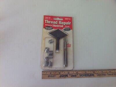 Helicoil 5521-6 3//8-16 Inch Coarse Thread Repair Kit