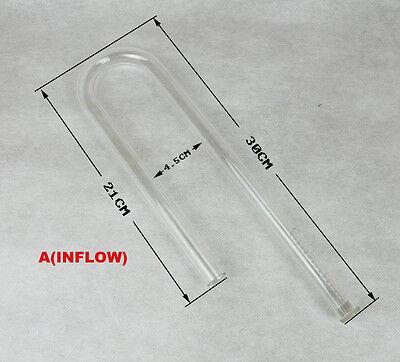 DIY Aquarium Acrylics Filter Pipe outflow/inflow can customize lenght