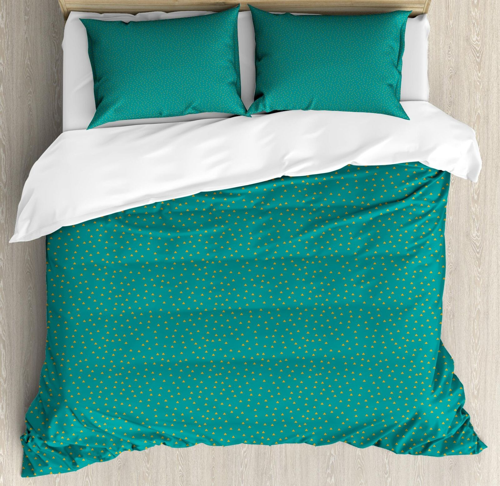 Simple Pattern Duvet Cover Set Twin Queen King Dimensiones with Pillow Shams